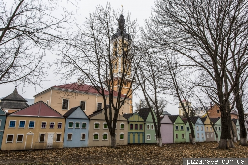 Gift town in Kamianets-Podilskyi