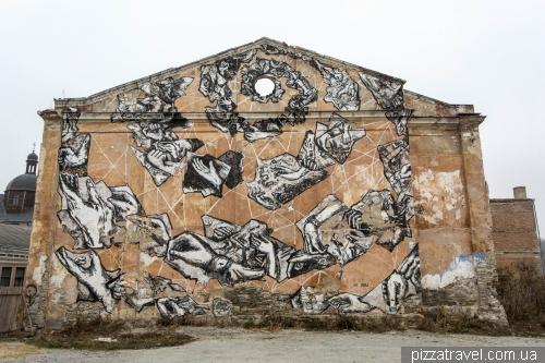 Граффити в Каменце-Подольском