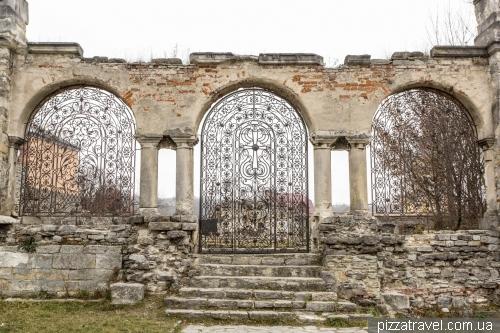 Остатки армянского храма