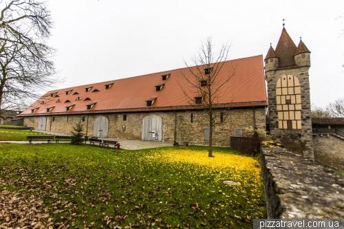 Medieval Congress Hall in Rothenburg ob der Tauber