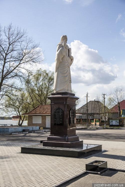 Monument St. Nicholas - patron saint of fishermen and seafarers