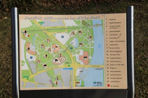 Карта Muga Park в Мюльхайм-на-Рурі