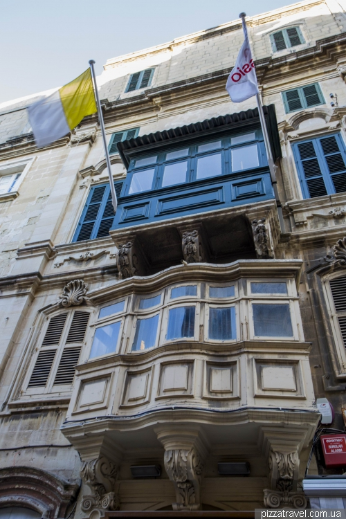 Балконы Валлетты