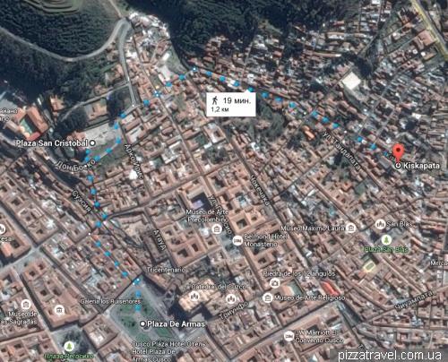 Две смотровые площадки в Куско