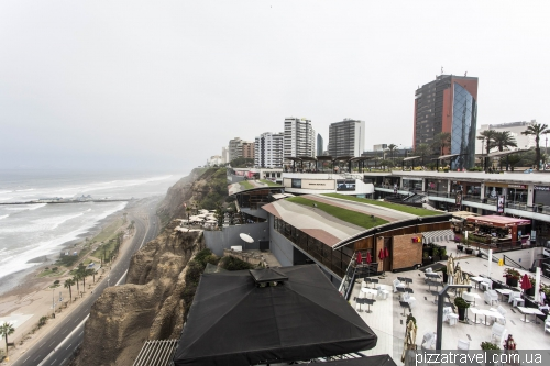 Larcomar shopping center in Miraflores