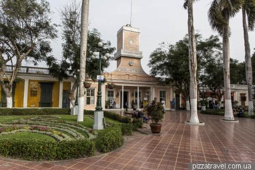 Муниципальный парк в районе Барранко