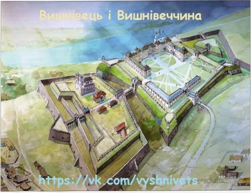 Реконструкция дворца в Вишневце