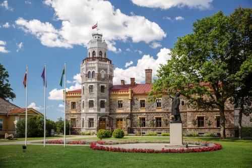 Kropotkin palace-castle in Sigulda