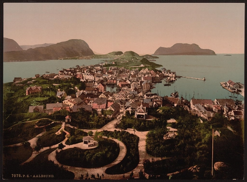 Aalesund prior to fire