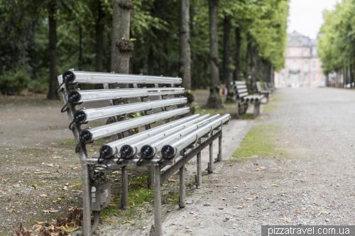 Park Hofgarten in Dusseldorf