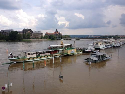 Flooding in Dresden