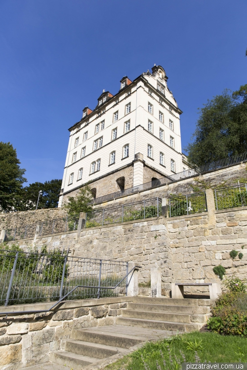 Sonnenstein Palace in Pirna
