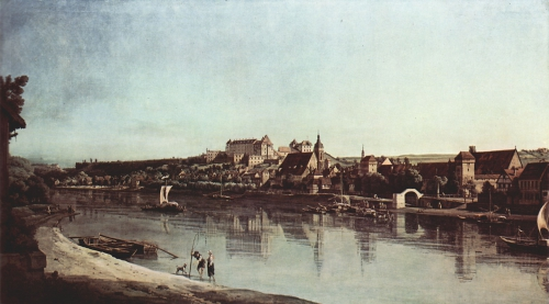 Canaletto. View of Pirna