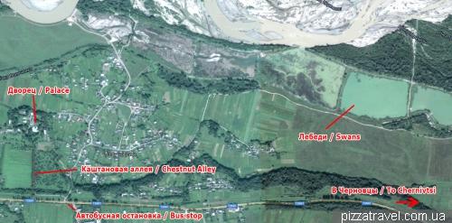 Chortoriya, map