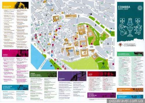 Coimbra map