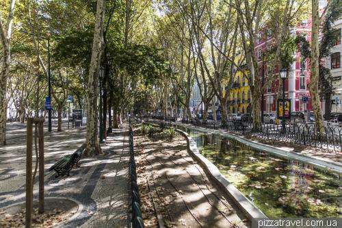 Lisbon, Avenida da Liberdade