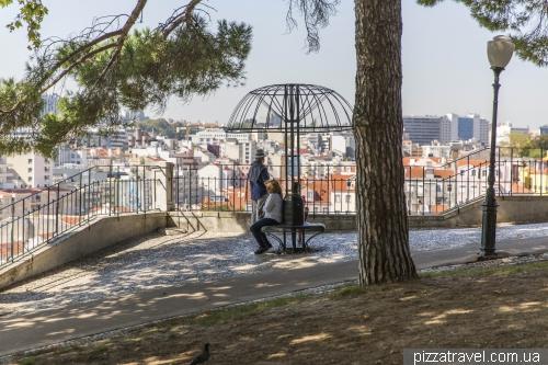 Лиссабон, сад Торел