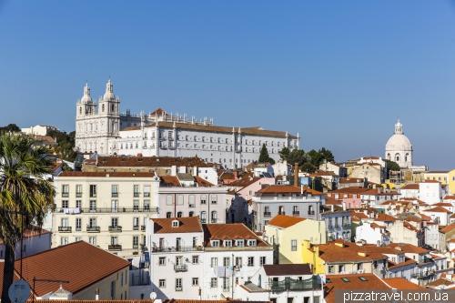 Lisbon, Miradouro das Portas do Sol