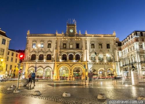 Lisbon, Rossio Station