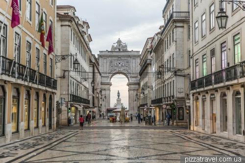 Лиссабон, Arco da Rua Augusta
