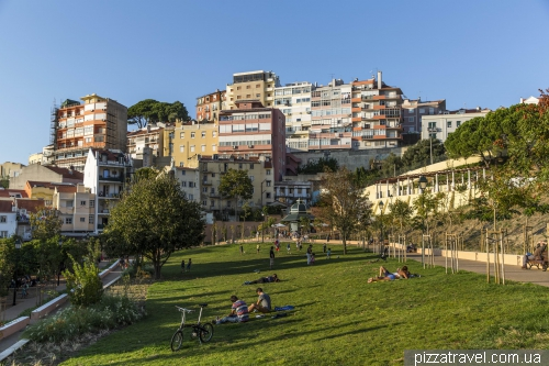 Lisbon, Jardim da Cerca da Graça