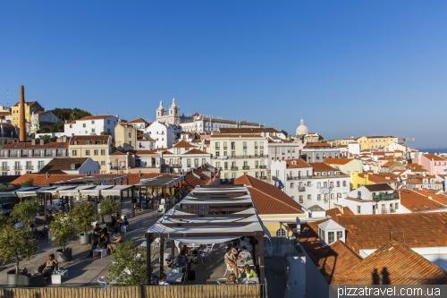 Лиссабон, Miradouro das Portas do Sol