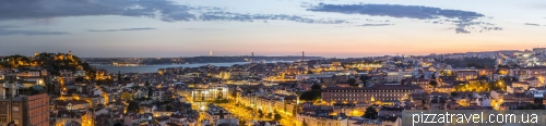 Лиссабон, Miradouro da Senhora do Monte