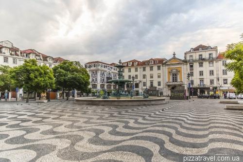 Lisbon, Rossio square