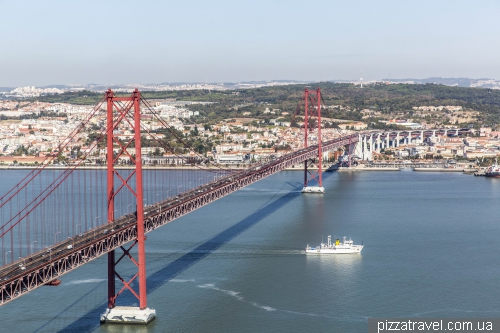 Lisbon, 25th of April Bridge