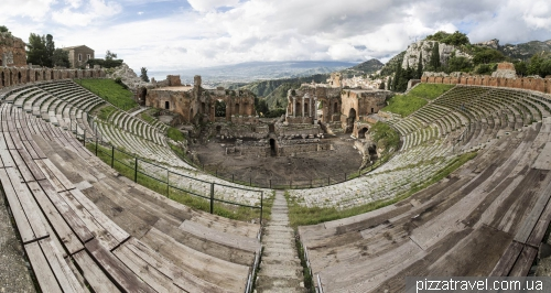 Ancient Theatre in Taormina