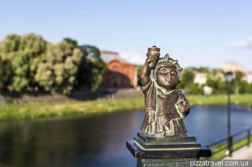 Mini sculptures of Uzhgorod