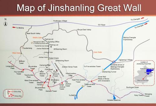 Мапа Jinshanling
