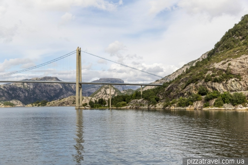 Cruise on the Lysefjord