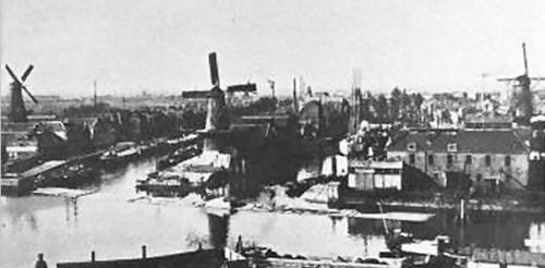 Мельницы в Роттердаме