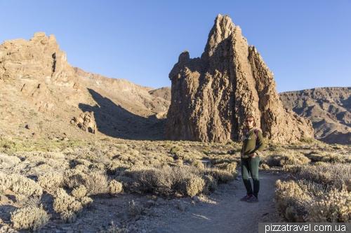 Скелі Гарсія в національному парку Тейде