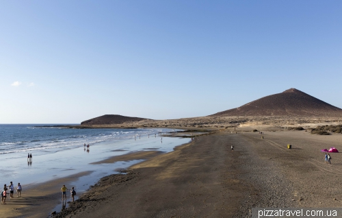 Пляж Ель Медано на острові Тенеріфе