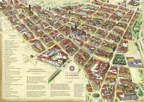 Сан-Крістобаль-де-ла-Лагуна, мапа