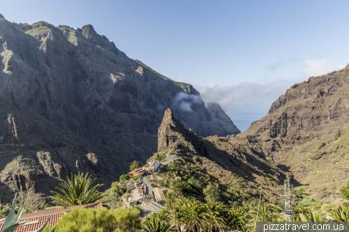 Ущелина Маска на острові Тенеріфе