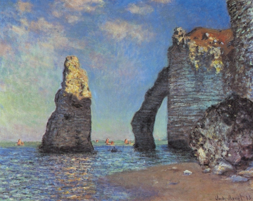 Claude Monet. The Cliffs at Etretat