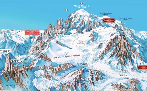 Aiguille du Midi - Helbronner