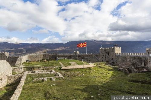 Охрід, фортеця Самуїла