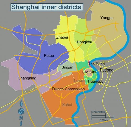 Shanghai Districts