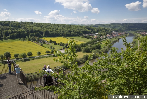 Weser-Skywalk - оглядовий майданчик над річкою Везер