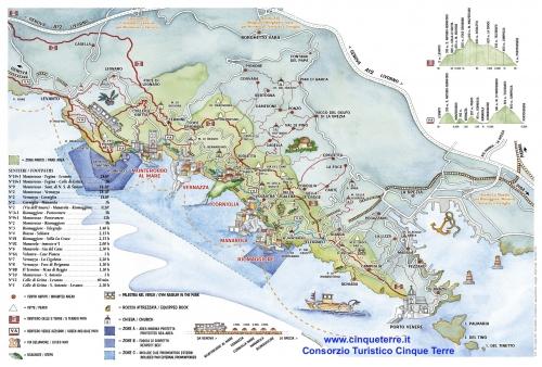 Карта Чинкве Терре