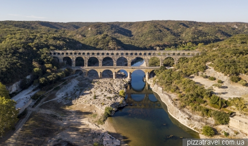 Pont du Gard - the highest preserved Roman aqueduct