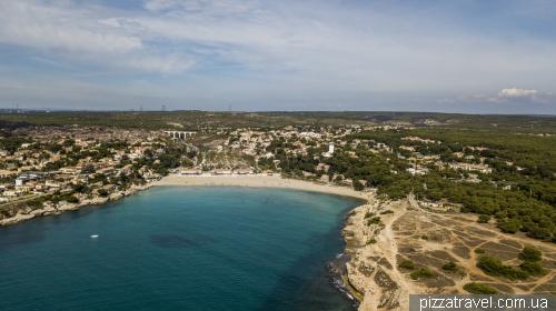 Verdon Beach on the Blue Coast