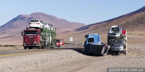 Авария в пустыне Атакама