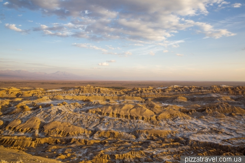 Moon Valley in the Atacama Desert
