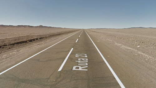 Road to San Pedro de Atacama