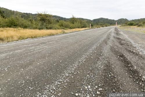 Грунтовые дороги в Национальном парке Торрес дель Пайне